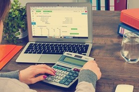 What is the difference between Service Charge and Company Accounts?
